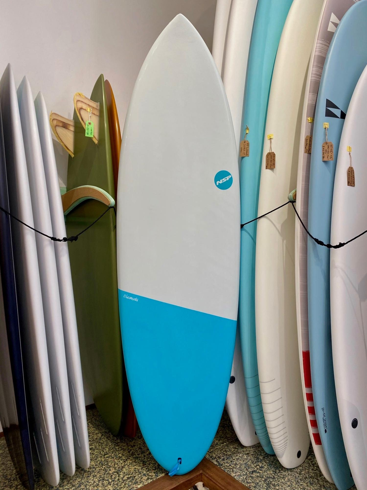 NSP Elements HDT Surf Hybrid 6.2 White