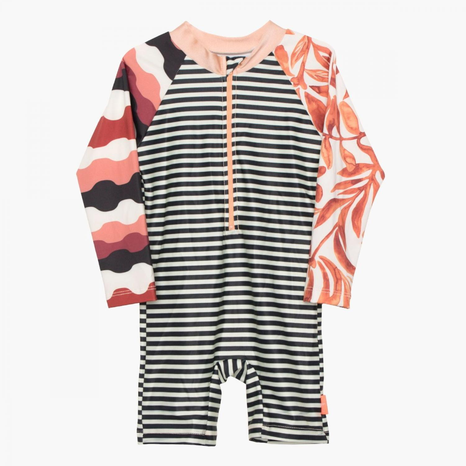 Mini Seea Swamini Kids Sunsuit  Kelp