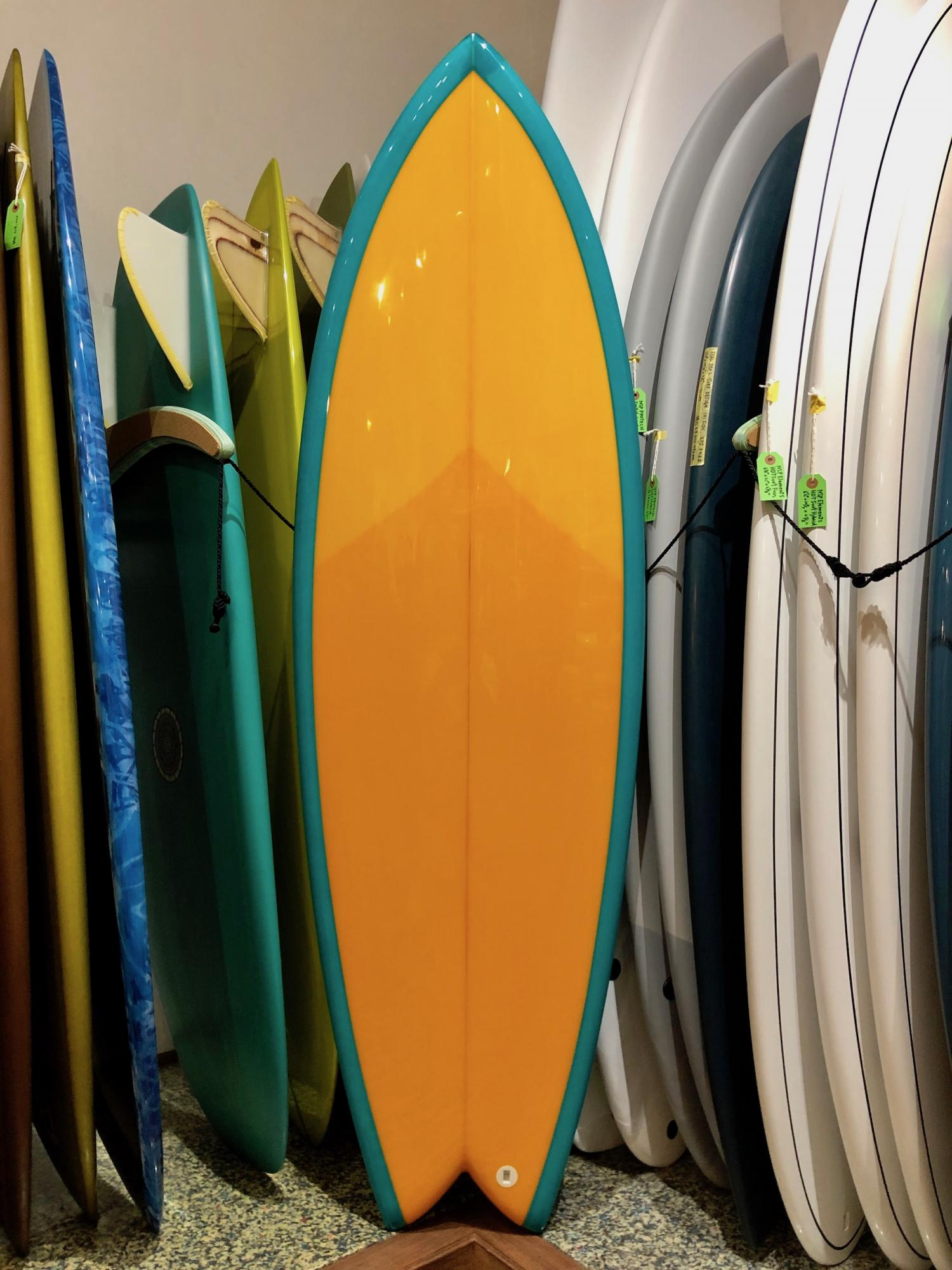 RMD SURFBOARDS 5.8 Marcy Fish
