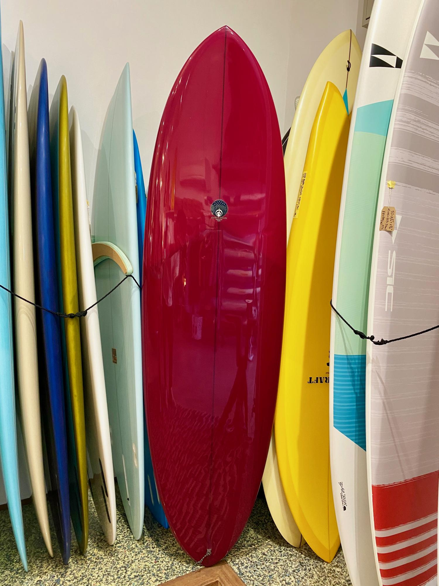 USED BOARDS (6.6 Bar Soap Egg  Michael Miller Surfboards)