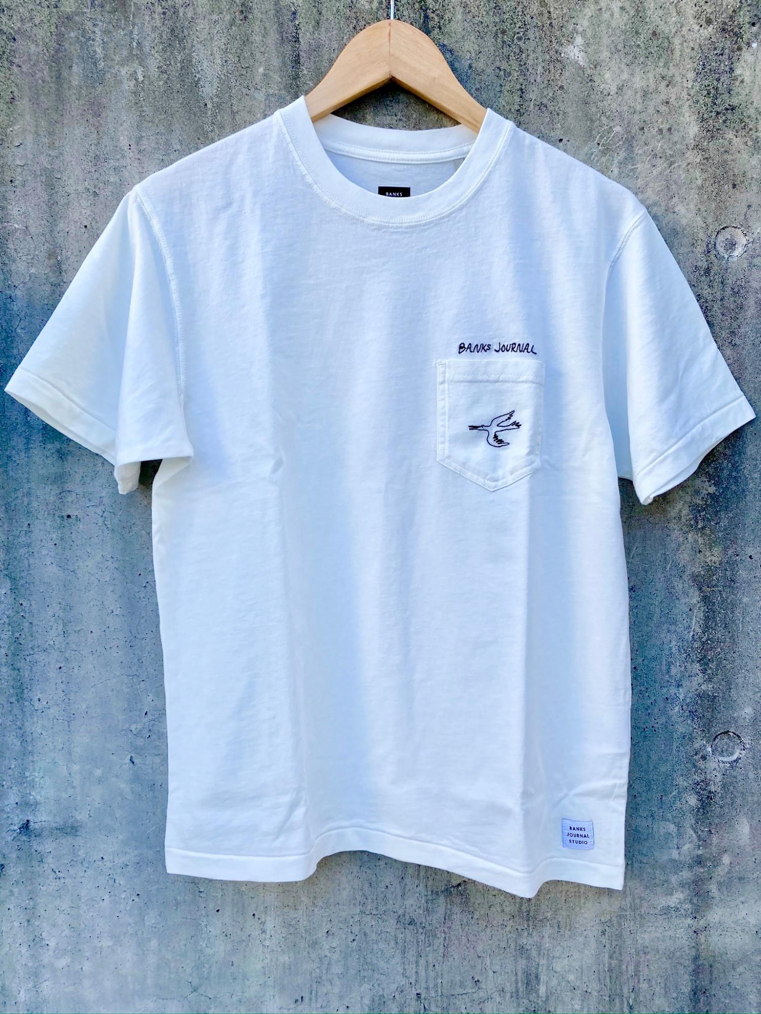 BANKS JOURNAL TY WILLIAMS CALYPSO TEE SHIRT OWH