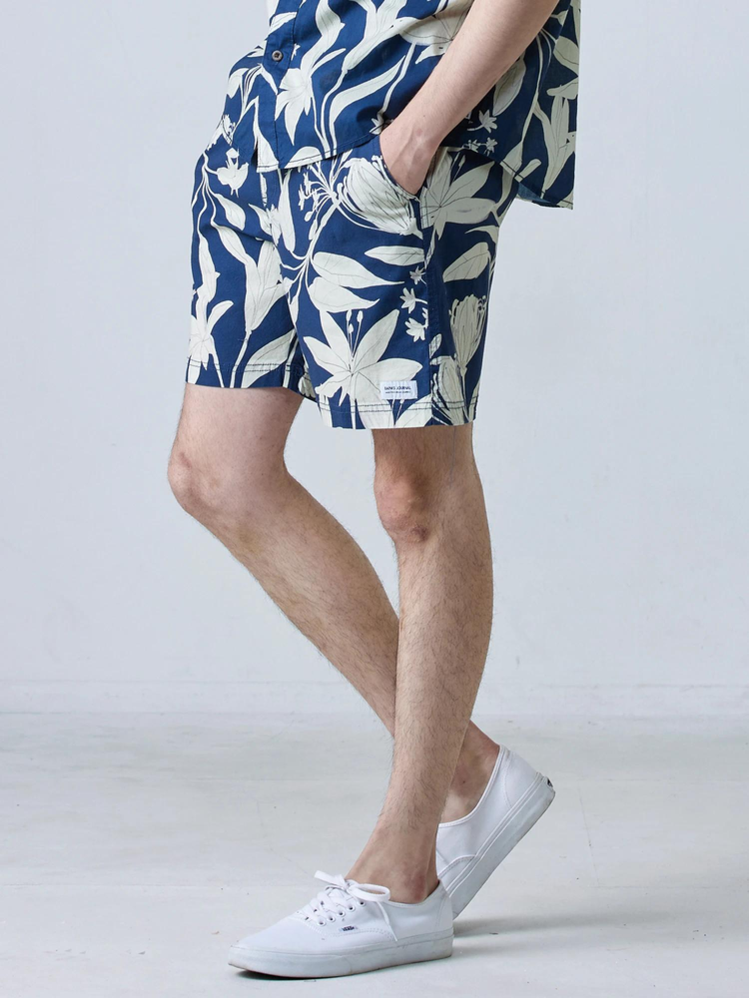 BANKS JOURNAL SYMBOLS S/S WOVEN SHIRT
