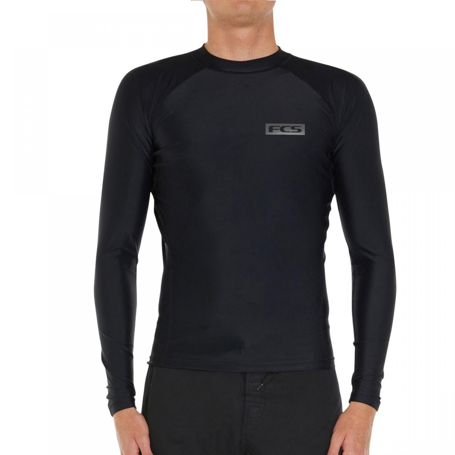 FCS LONG SLEEVE RASH VEST