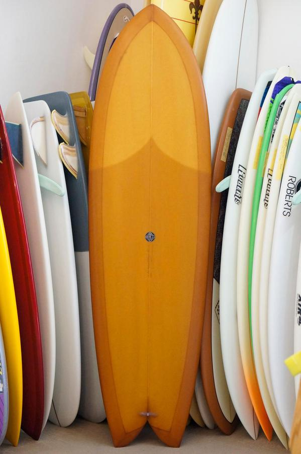 USED BOARDS (Eric Christenson Surfboards Fish Simmons 6'10