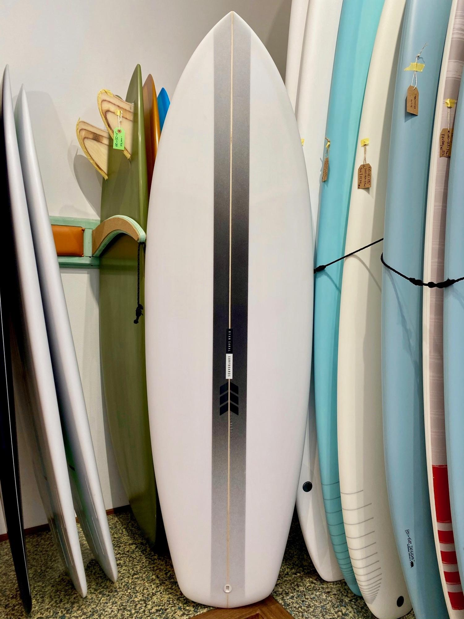The Soap Box Derby Black 5.10 RYAN SAKAL SURFBOARDS