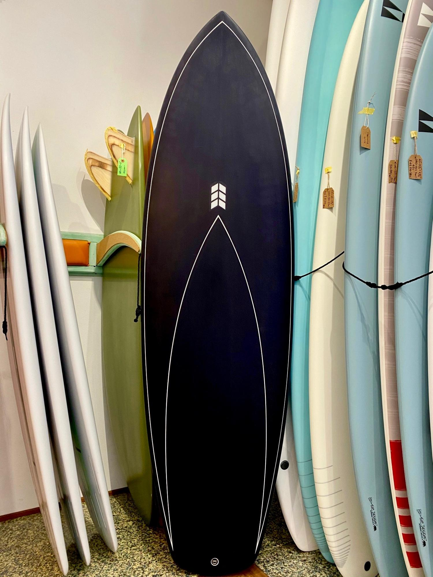 The Soap Box Derby Black 6.4  RYAN SAKAL SURFBOARDS