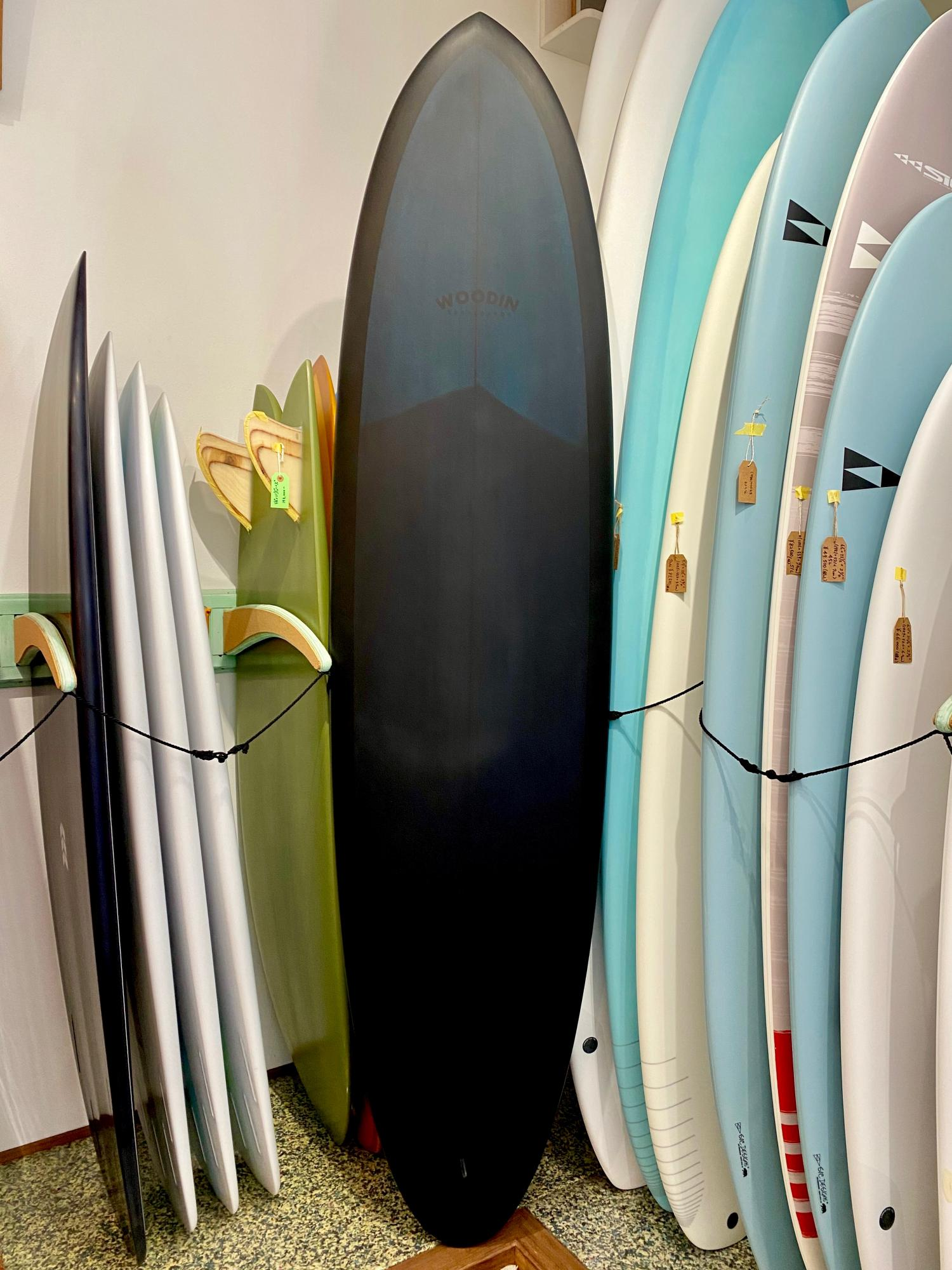 Gypsy Eye model 7.6 WOODIN SURFBOARDS