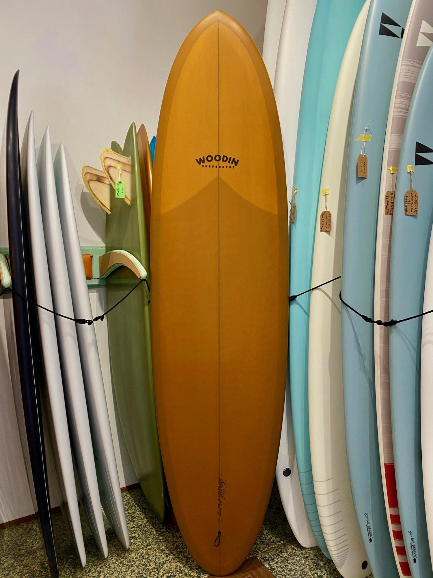 Gypsy Eye model 6.8 WOODIN SURFBOARDS