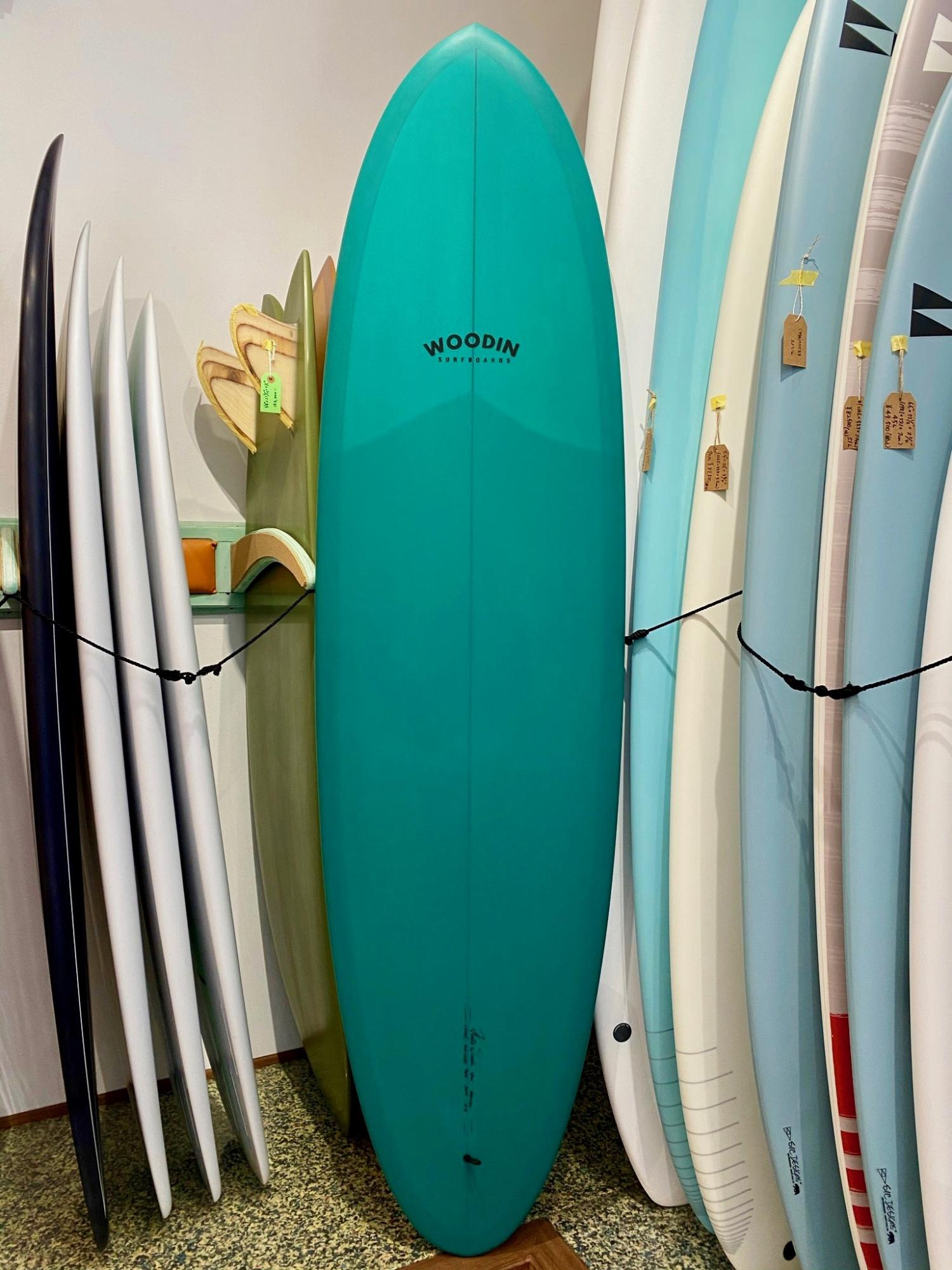 Gypsy Eye model 6.6 WOODIN SURFBOARDS