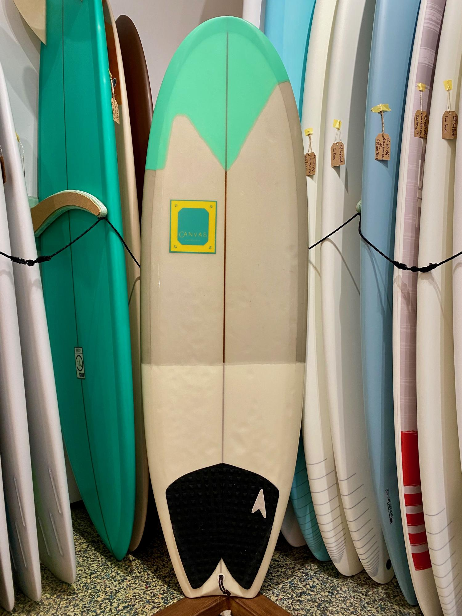 USED BOARDS (CANVAS THE BUTTER ZONE 5.6)