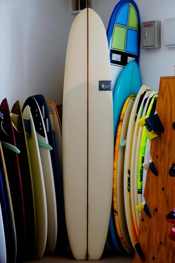 "USED BOARDS (CHRISTENSON SURFBOARDS LONG SIMMONS 8'10"")"