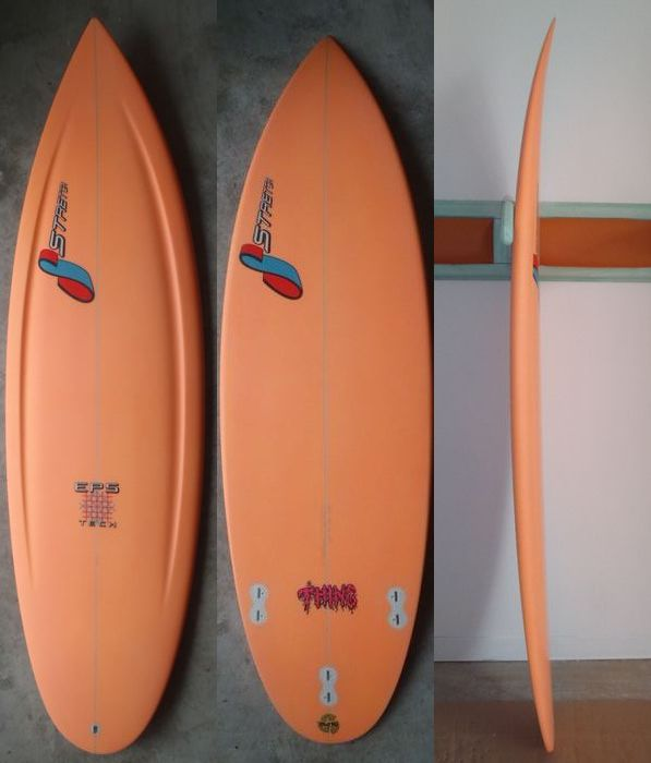 "STRETCH SURFBOARDS 「THING 5'6""」"