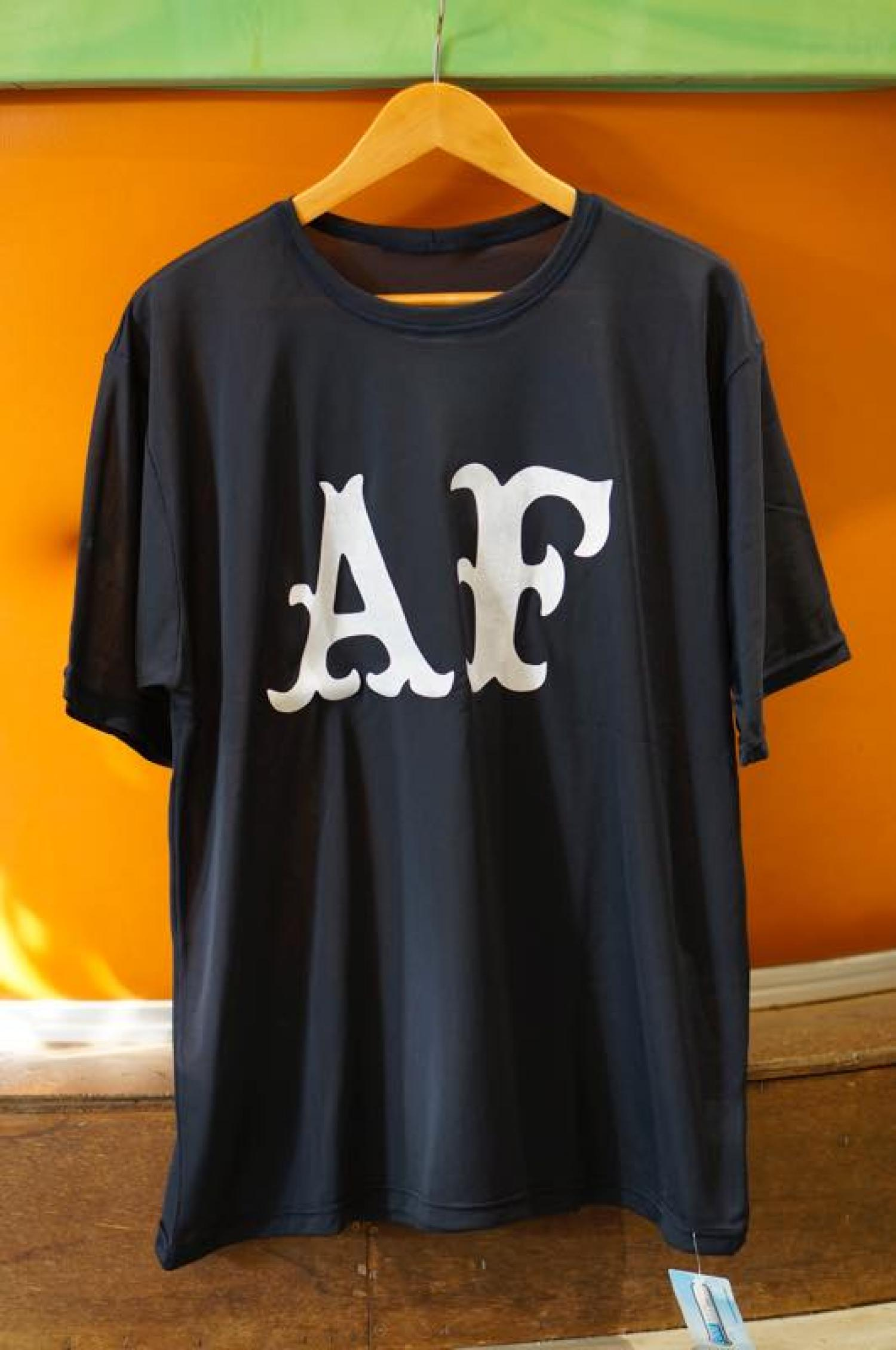 [AIDENTIFY] AF COOL MAX SUNGUARD TEE NVY