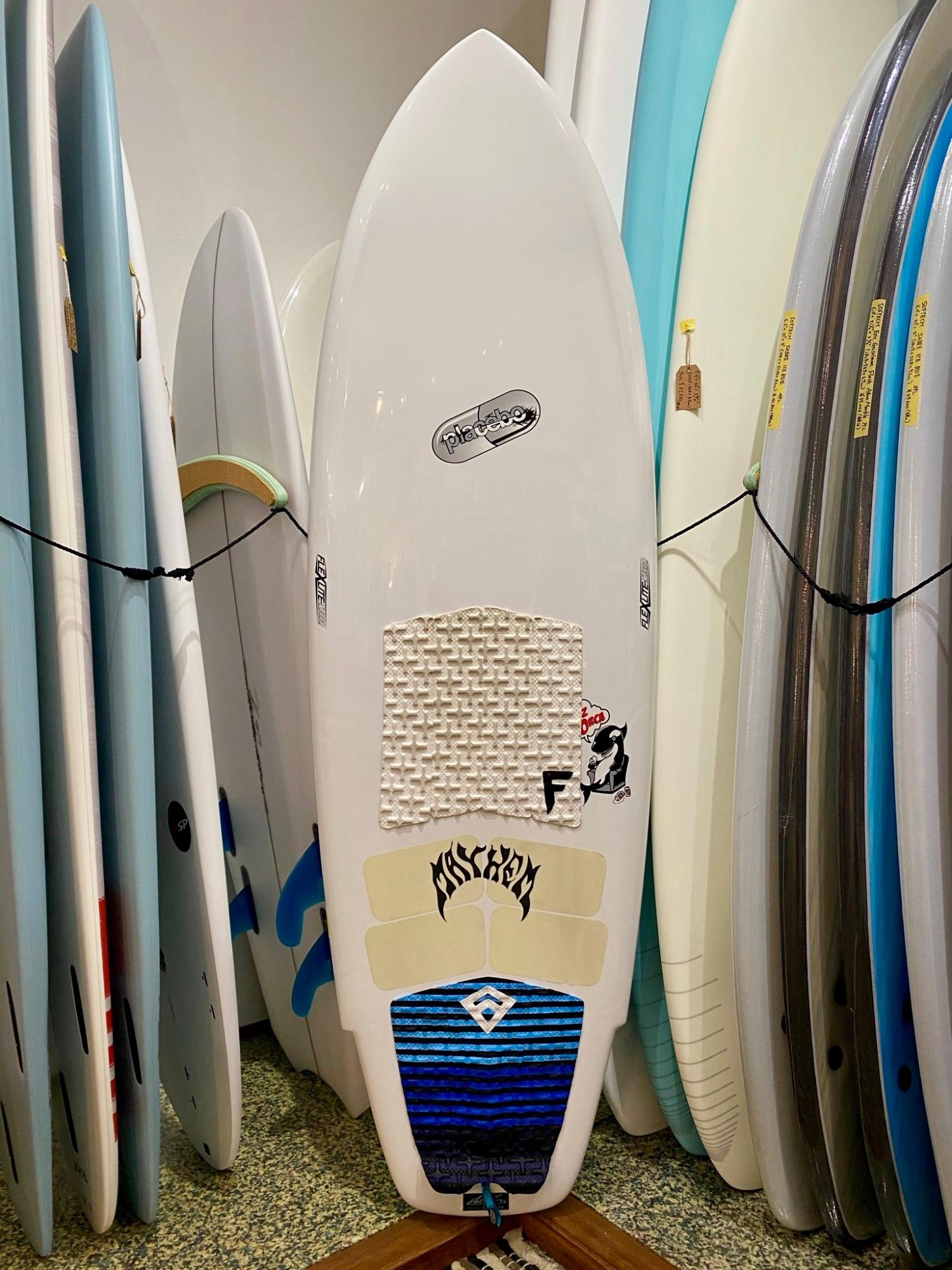USED SURF BOARDS (PLACEBO LAYZ ORCA 6.0 )