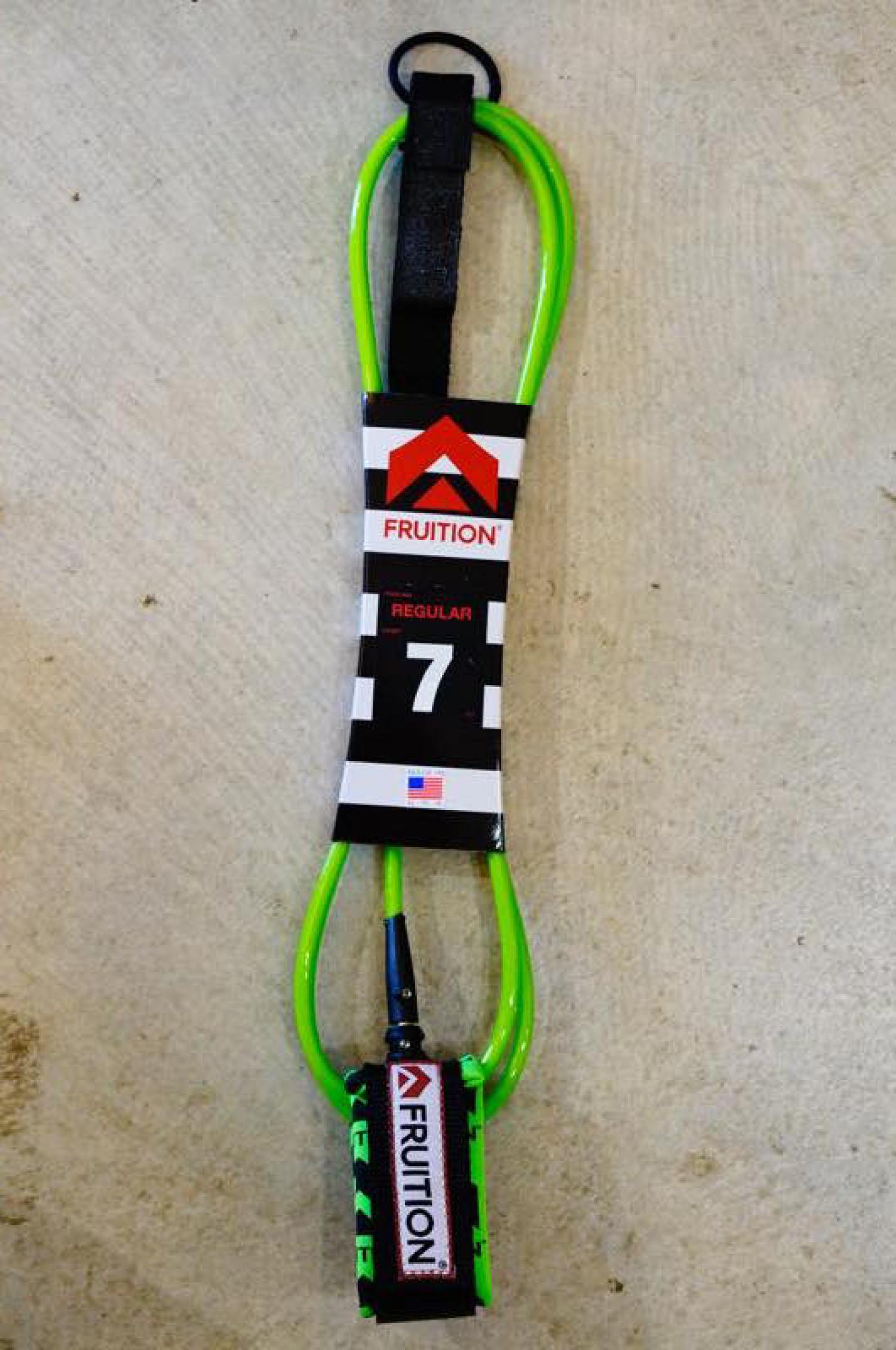 FRUITION Leashes 7 Standard NEW F Green