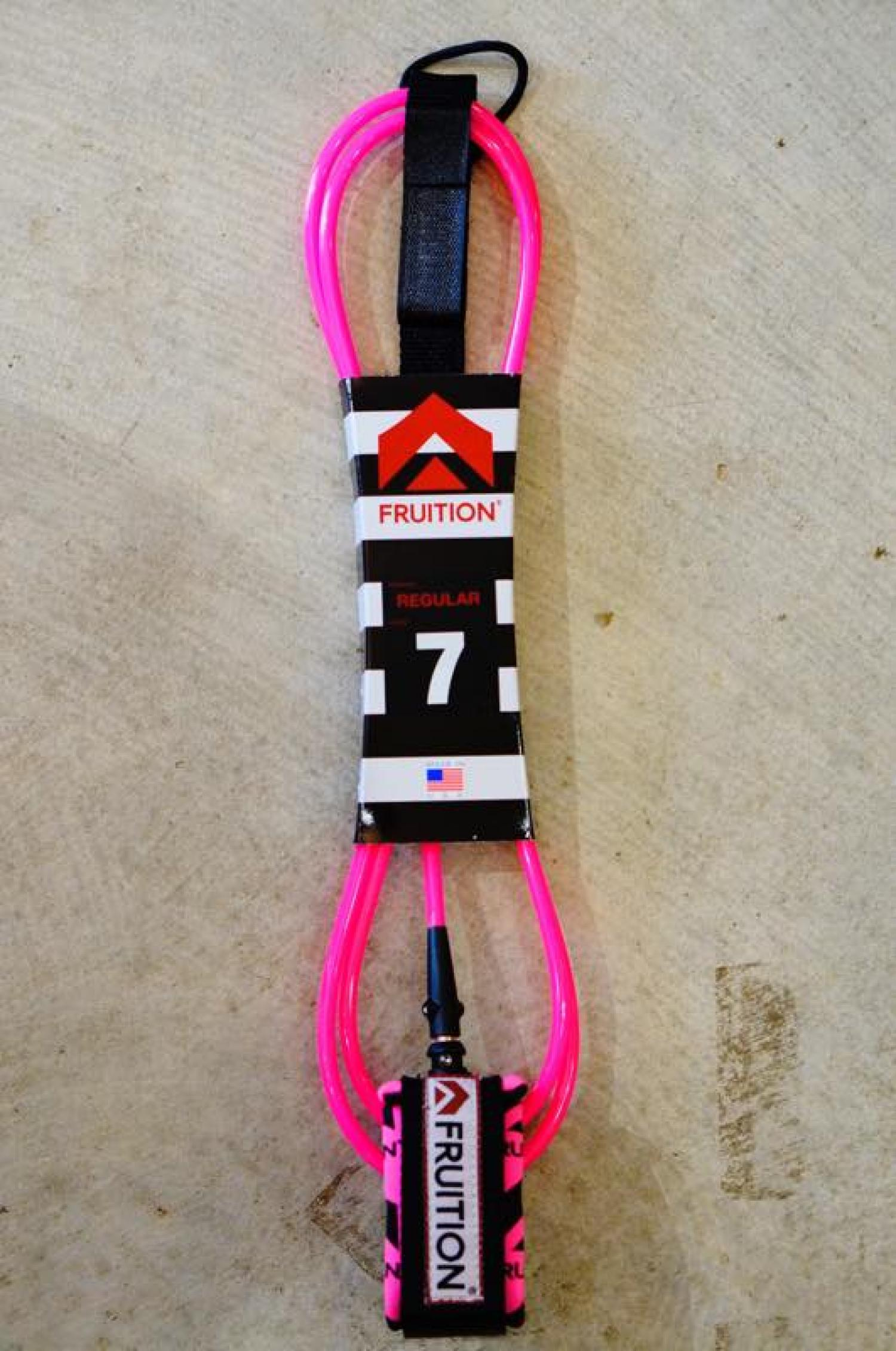 FRUITION Leashes 7 Standard NEW F Pink