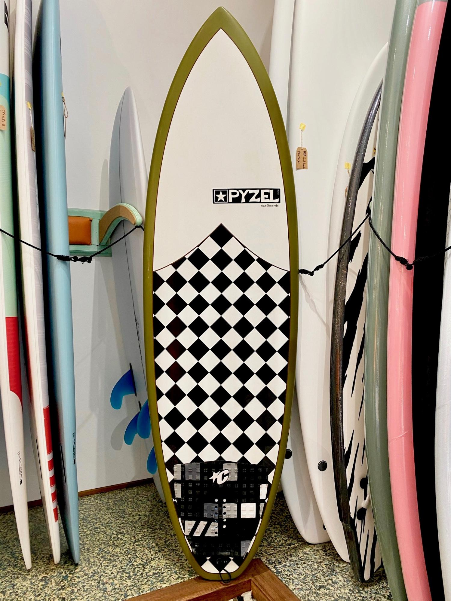 USED BOARDS (PYZEL SURFBOARDS-NUGGET 5.10)