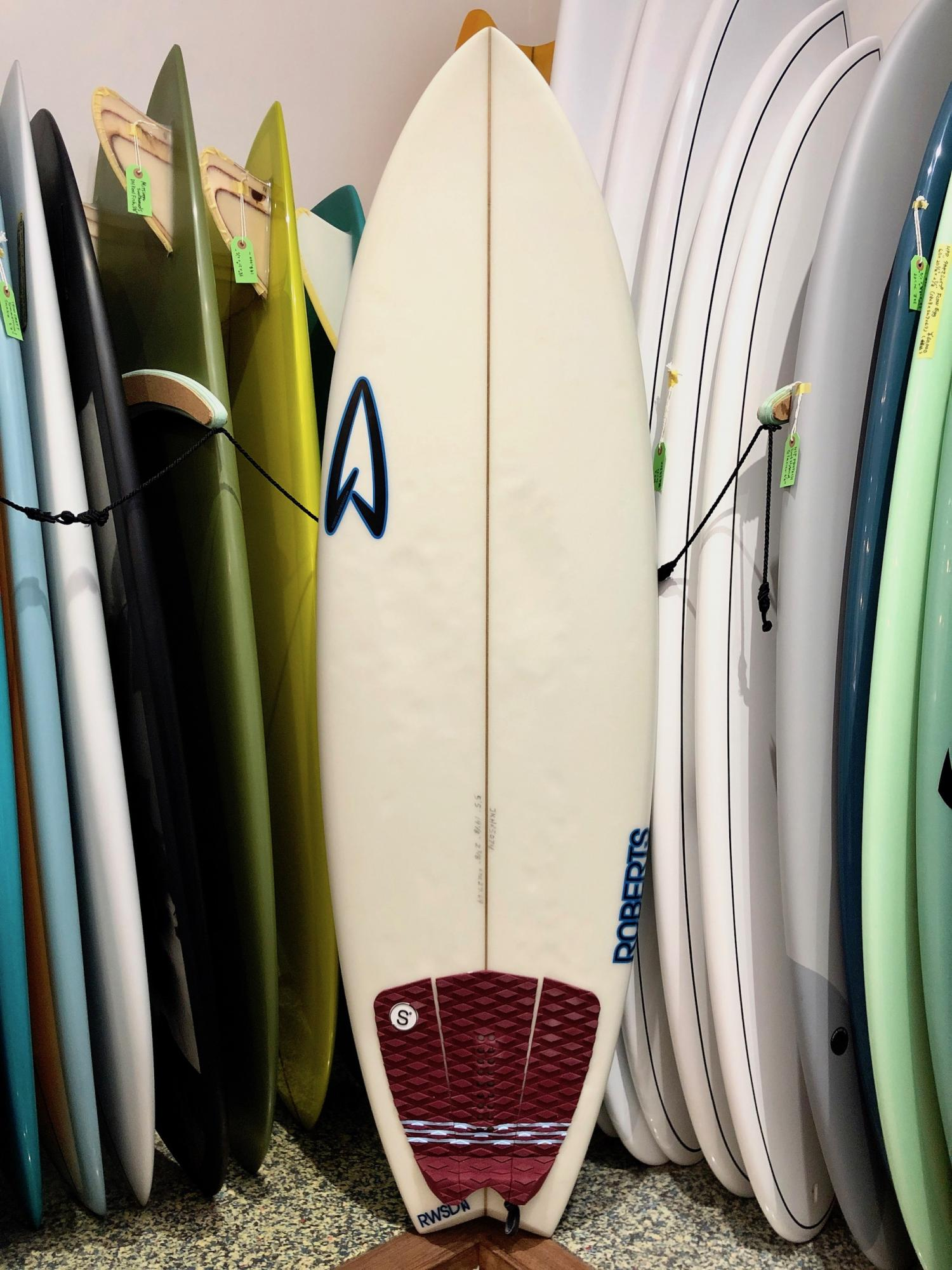 USED BOARDS (Roberts Surfboards Fish Paco 5.5)