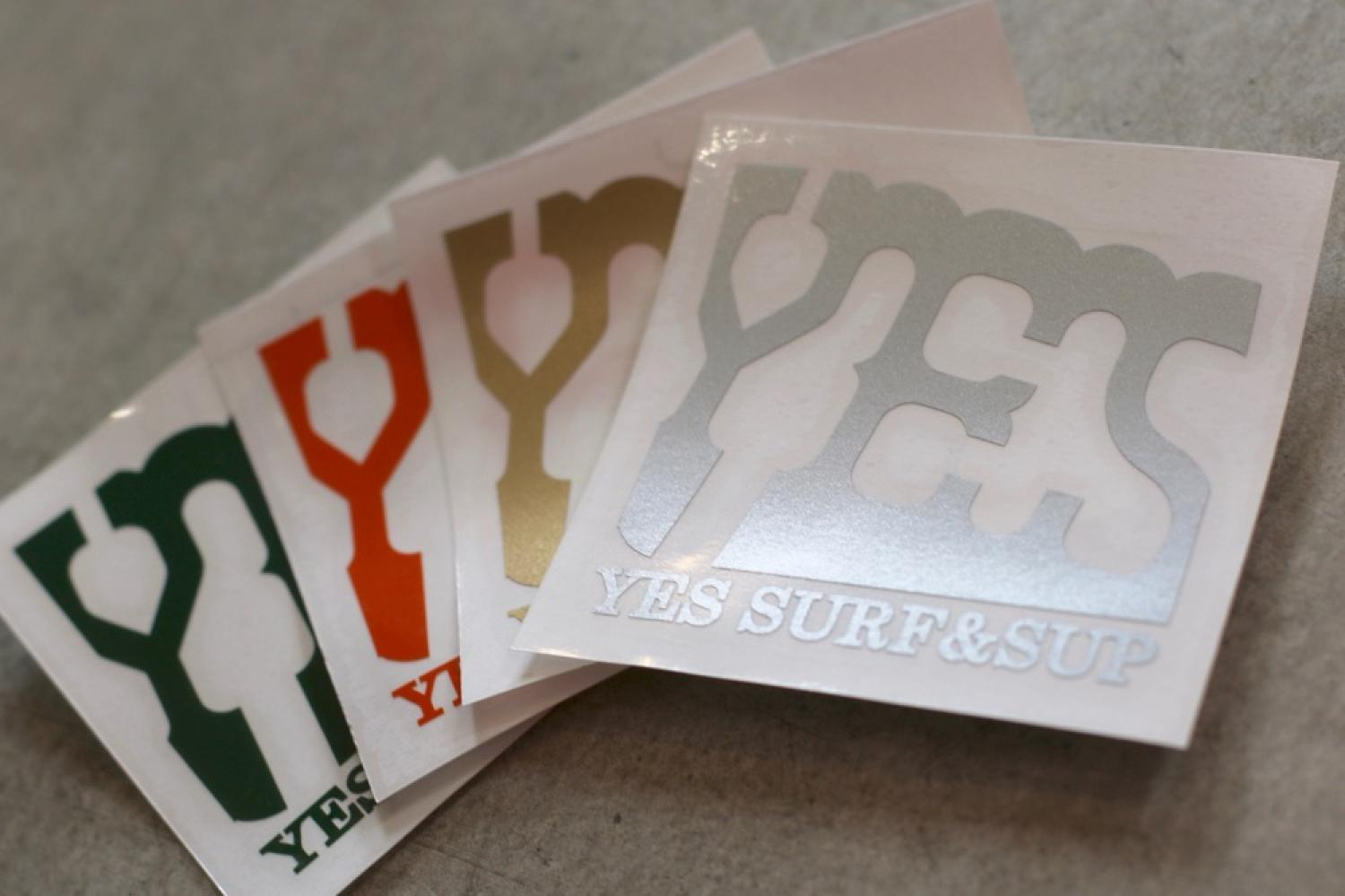 YES SURF&SUP LOGO cuttingsticker
