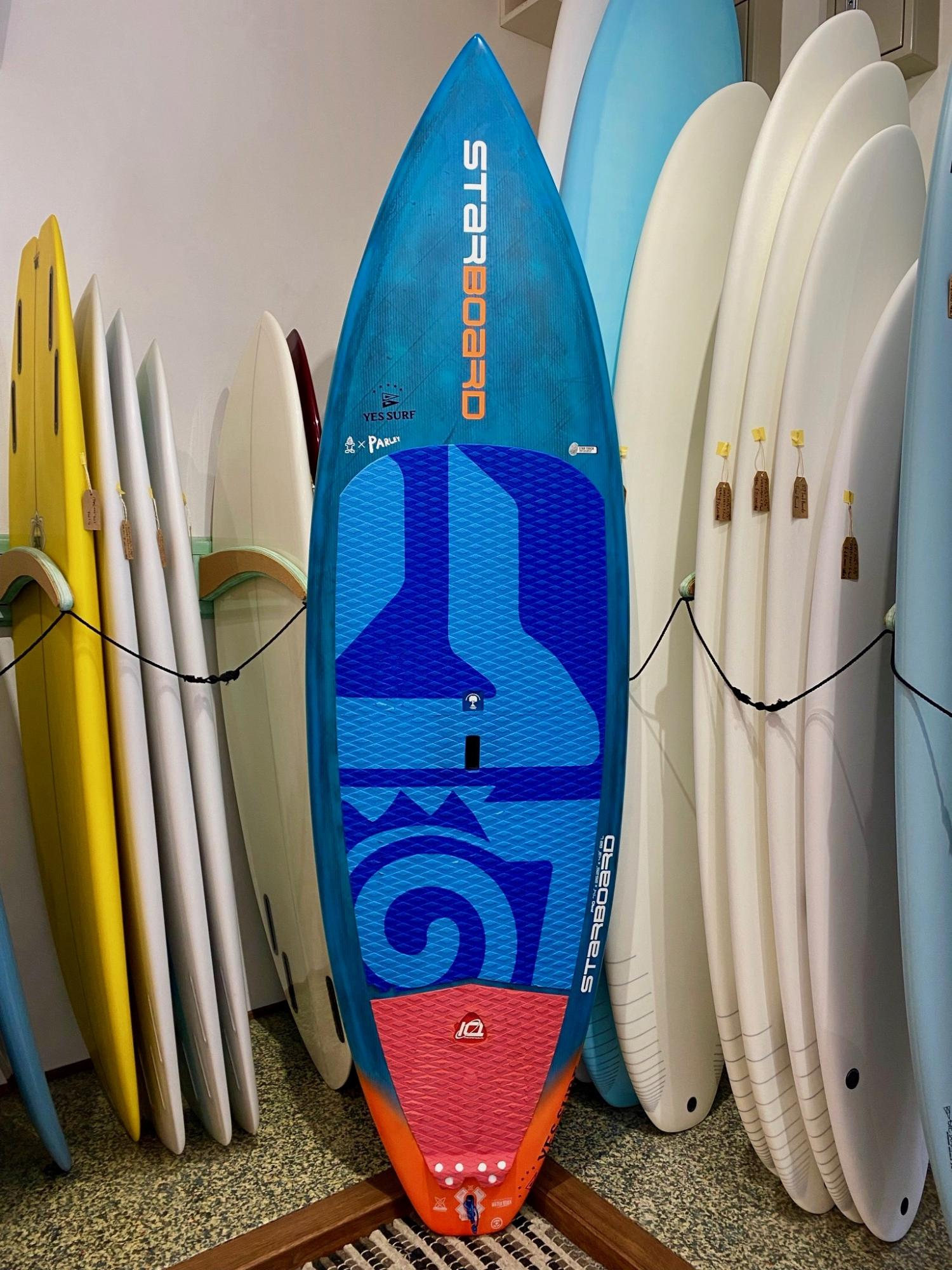 USED BOARDS  (STARBOARDS SUP PRO PERFORMANCE 7.5 Blue carbon))