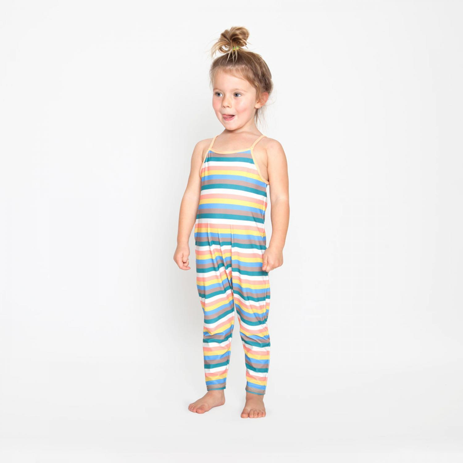 Mini Seea Chimi Kids Jumpsuit - Azucar