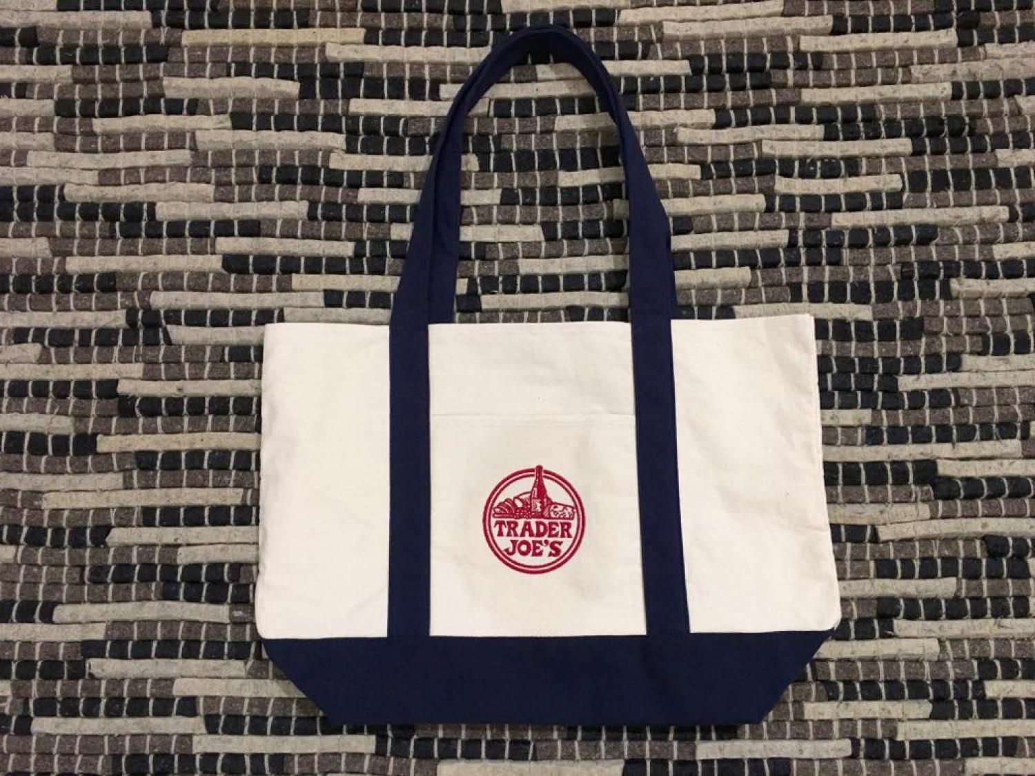 TRADER JOE'S Reusable Cotton Tote Bag