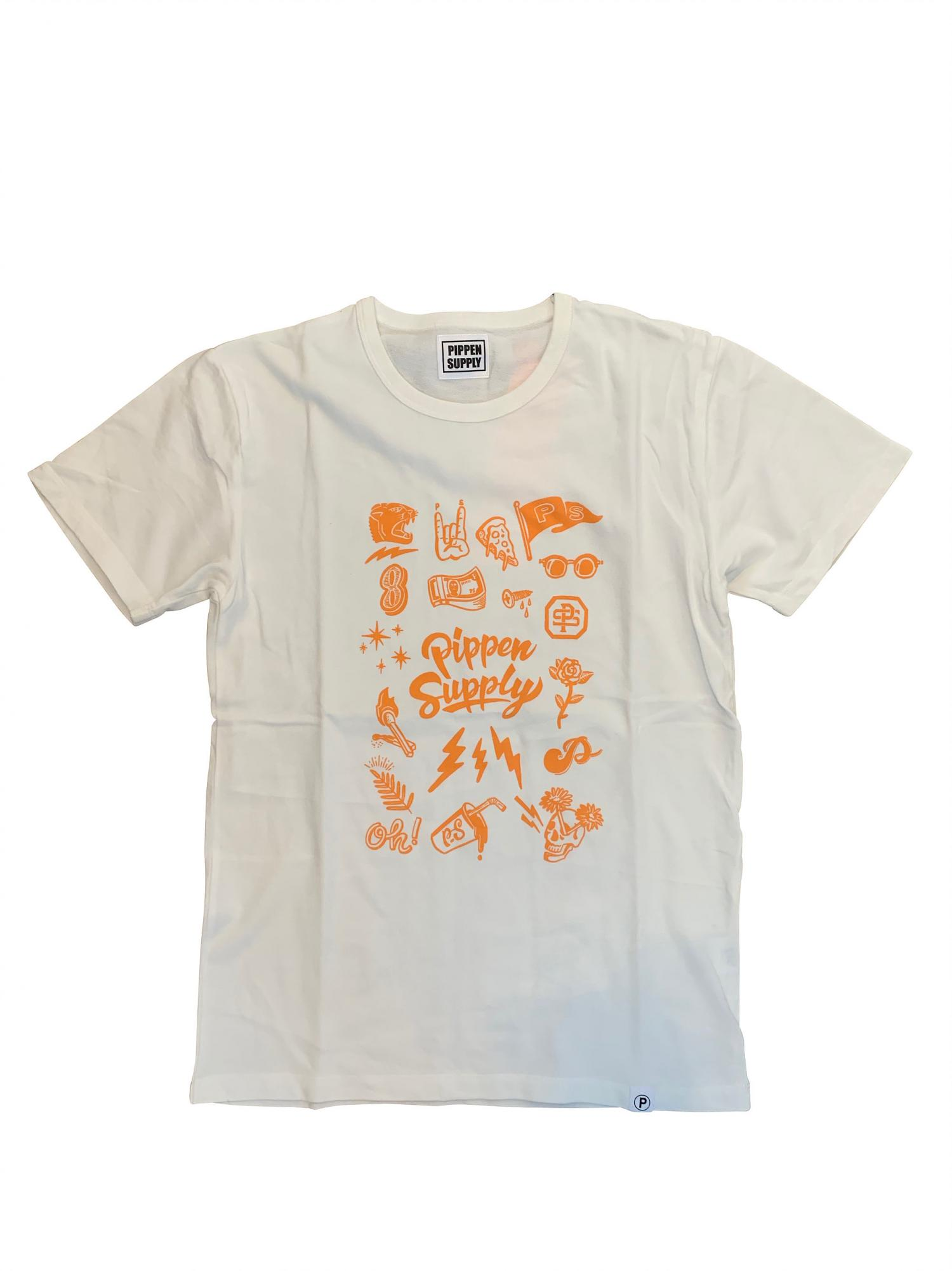 P SUPPLY. ARTIST Collaboration TEE  -GRAPHIC TEE-