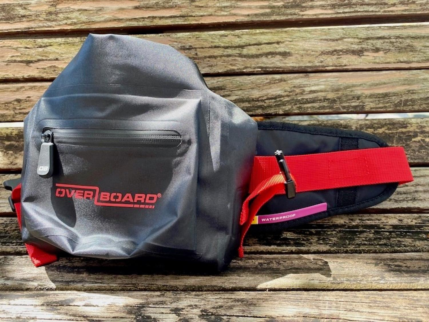 OVER BOARD Waterproof Waist Pack 2L Red