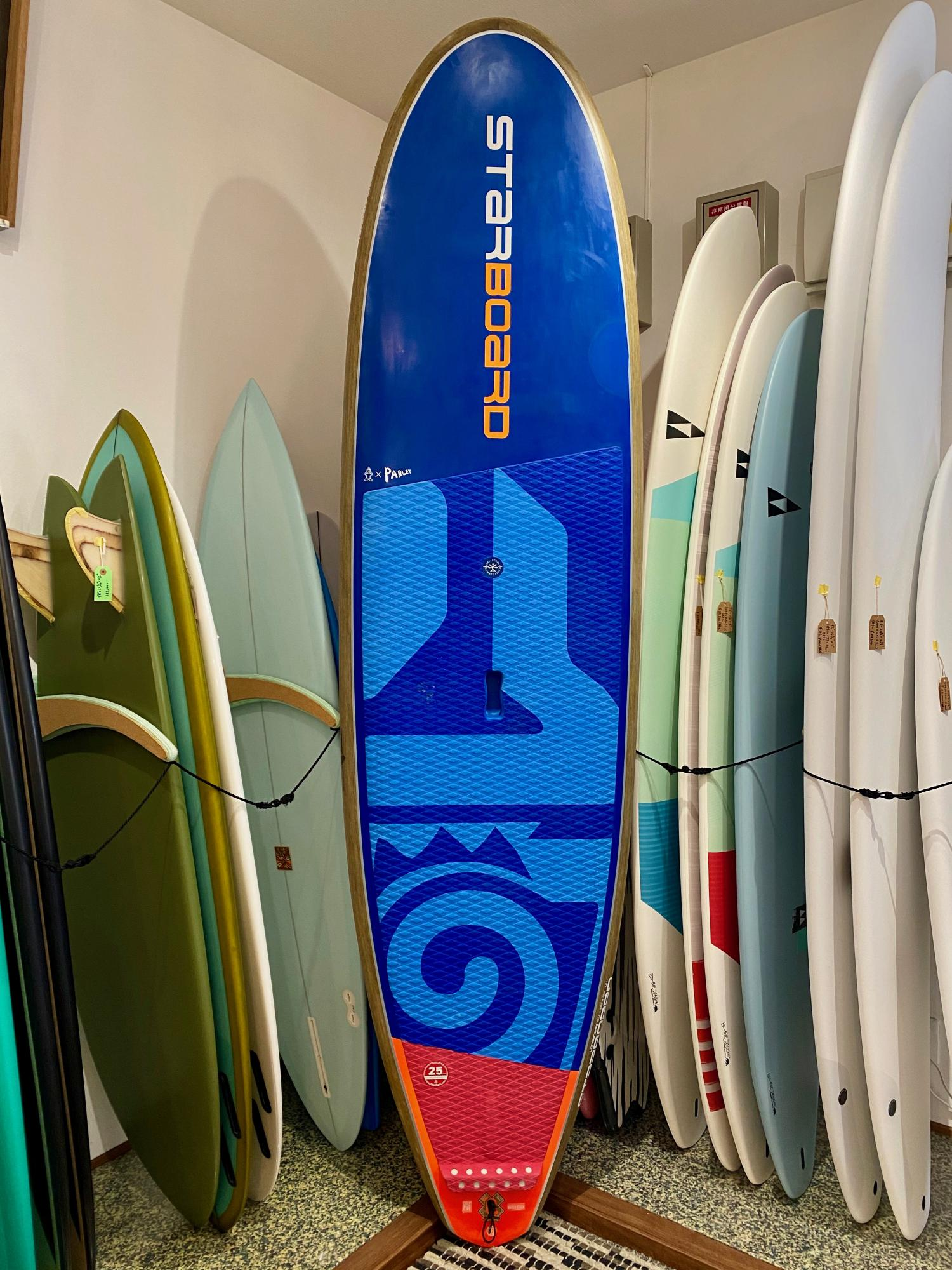 USED BOARDS(STARBOARD SUP 9.0 LONGBOARD Blue carbon)