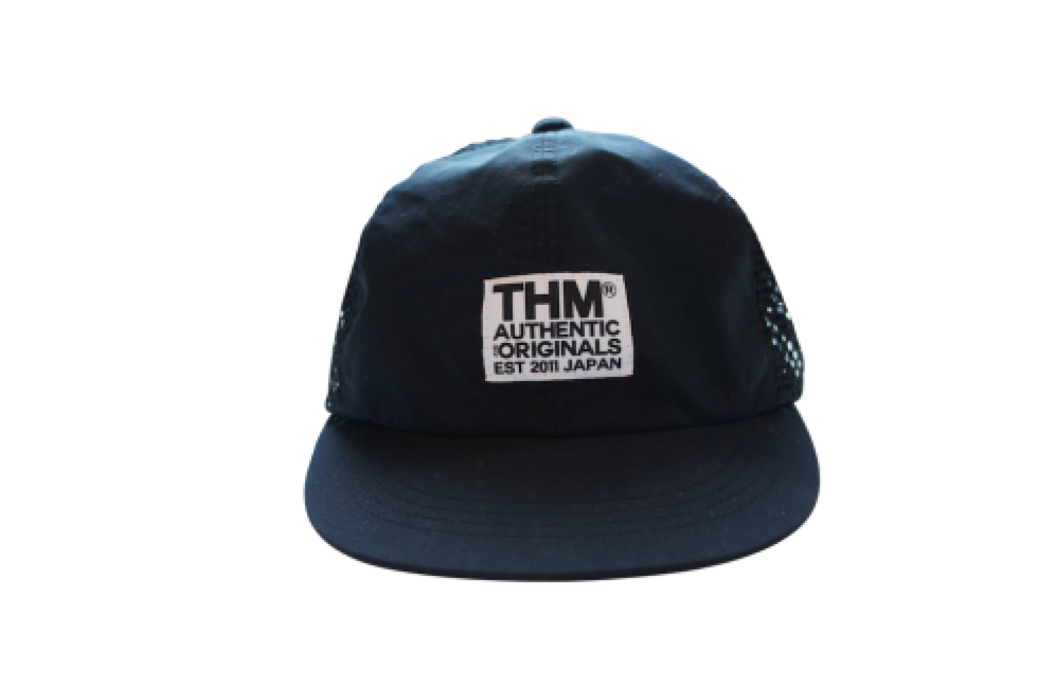 [THE HARD MAN] THM logo water cap BLK