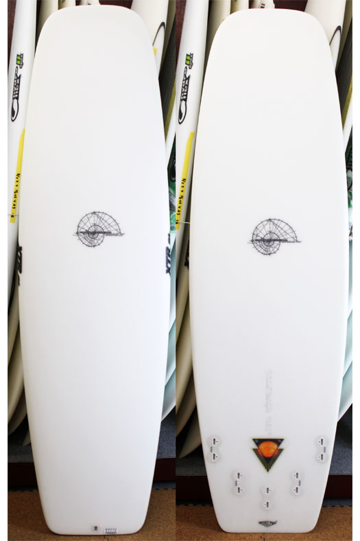 "Hydrodynamica Golden Mean Machine 5'4""XTR Stringerless"