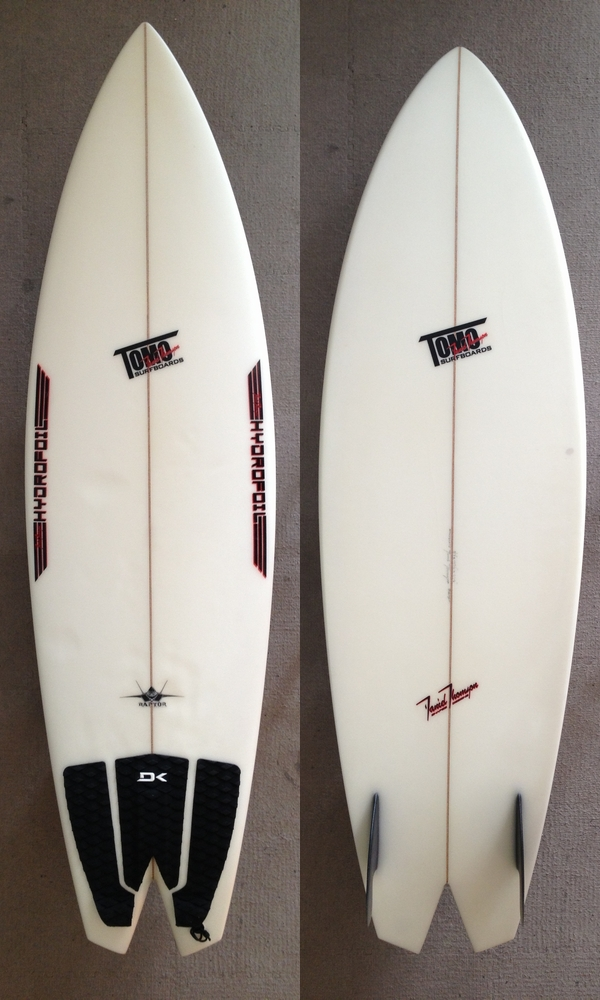 "USED BOARDS(TOMO SURFBOARDS FA-22 RAPTOR V1 5'7"")"